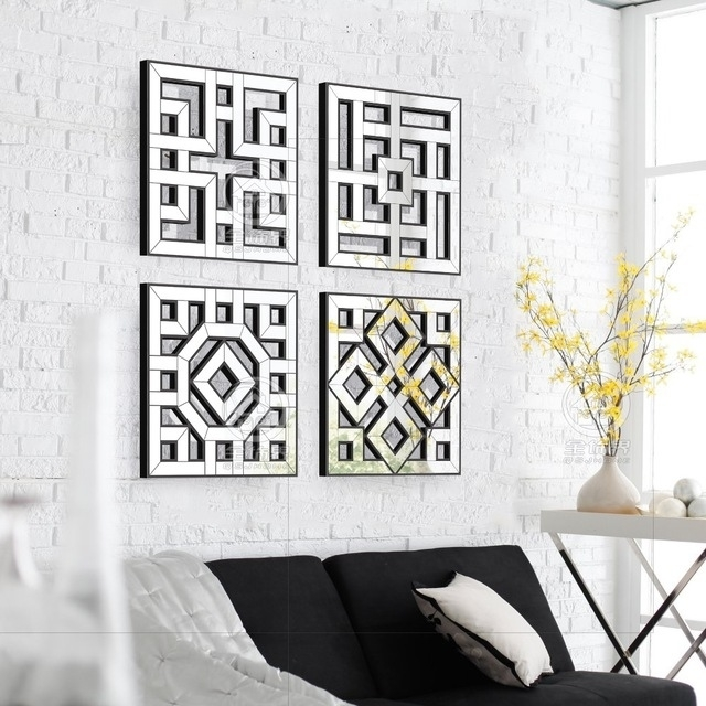 Mirror Wall Art | Craft Get Ideas Intended For Mirrored Wall Art (Image 10 of 20)