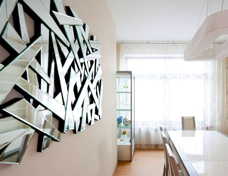 Mirrored Wall Art Awesome : Gretabean – Mirrored Wall Art Harmonic With Regard To Mirrored Wall Art (View 17 of 20)