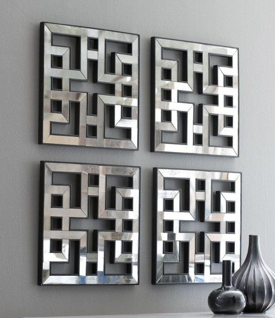 Mirrored Wall Art – Zauber Within Mirrored Wall Art (Image 14 of 20)