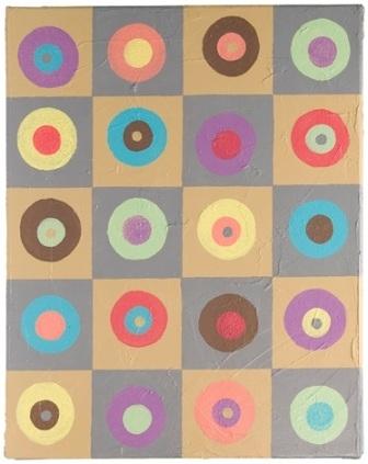 Mod Circles Wall Art | Favecrafts Throughout Circle Wall Art (Image 15 of 25)