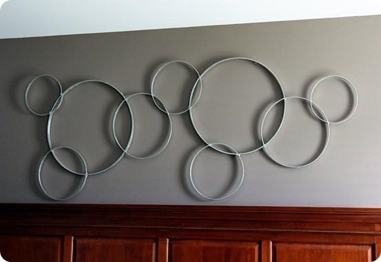 Modern Circles Wall Art Throughout Circle Wall Art (Image 16 of 25)