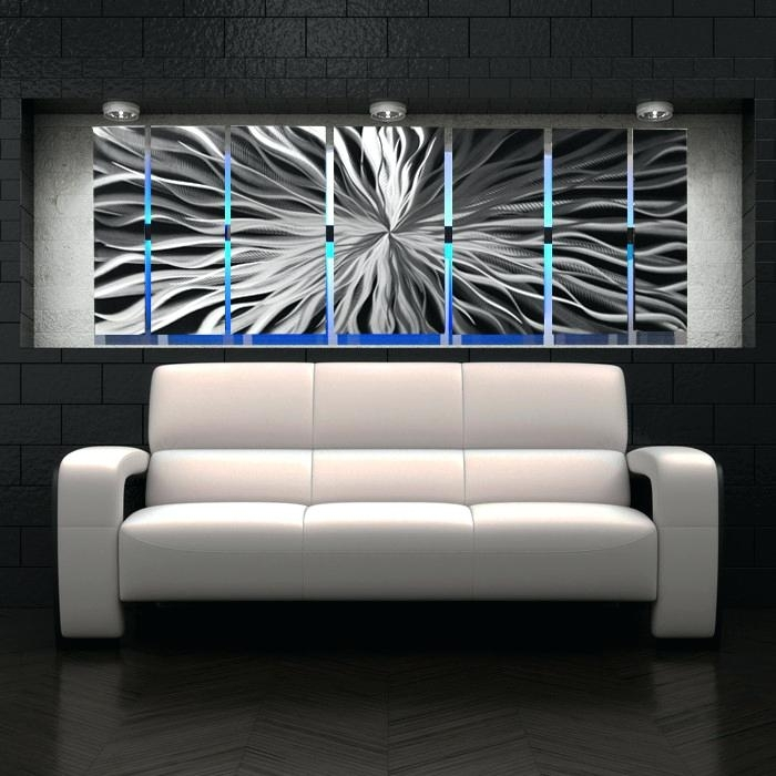 Modern Metal Wall Art Designs Contemporary Decor Cosmic Energy Large In Modern Metal Wall Art (View 8 of 20)