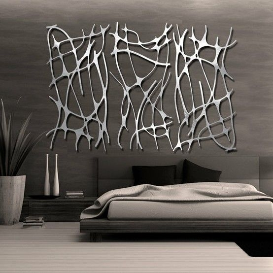 Modern Metal Wall Art – Fallow For Modern Metal Wall Art (View 3 of 20)