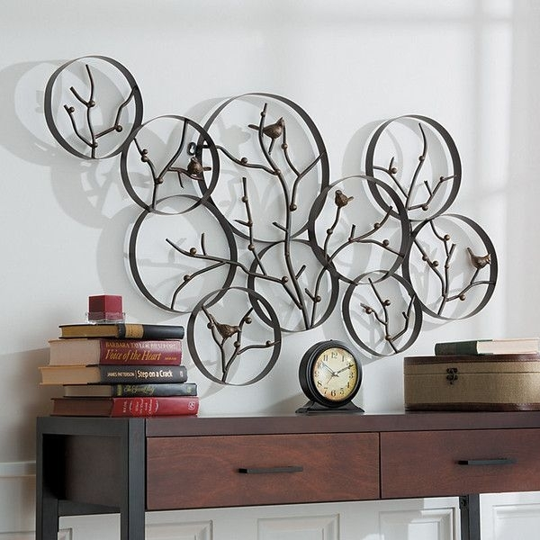 Modern Metal Wall Art Within Decor Artwork Outdoor Decorations 7 Throughout Modern Metal Wall Art (View 17 of 20)