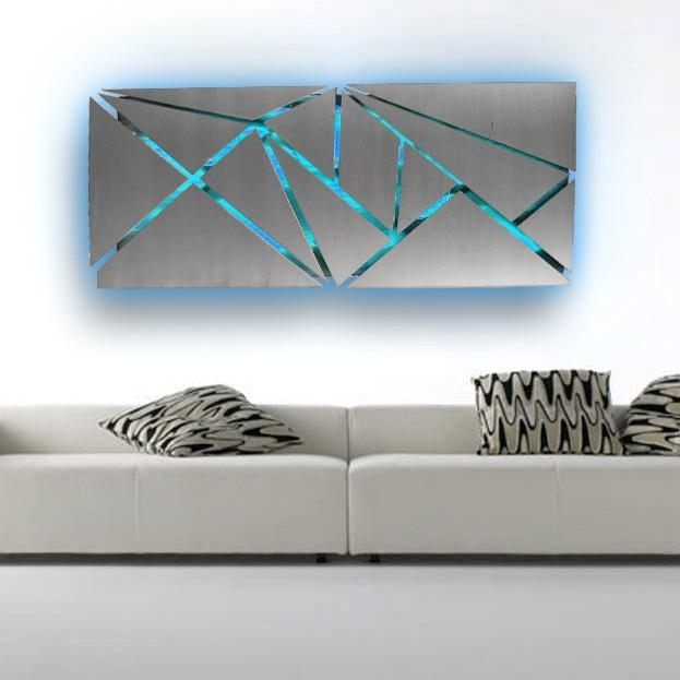Modern Metal Wall Art – Www (View 4 of 20)