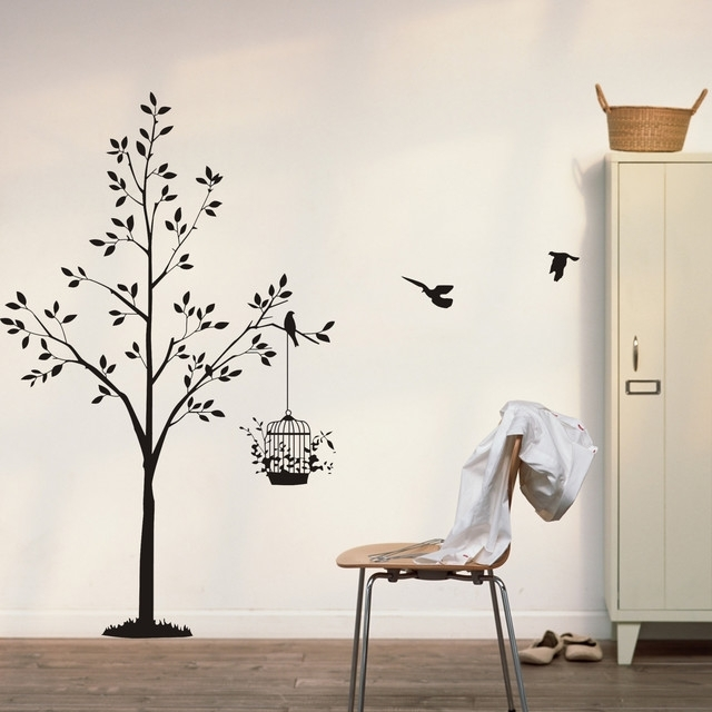 Modern Wall Decals – 8 – In Decors In Modern Wall Art Decors (Image 19 of 25)