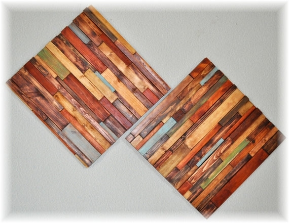 Modern Wood Art Wall Hanging | Ihsanudin Inside Wood Art Wall (Image 7 of 20)
