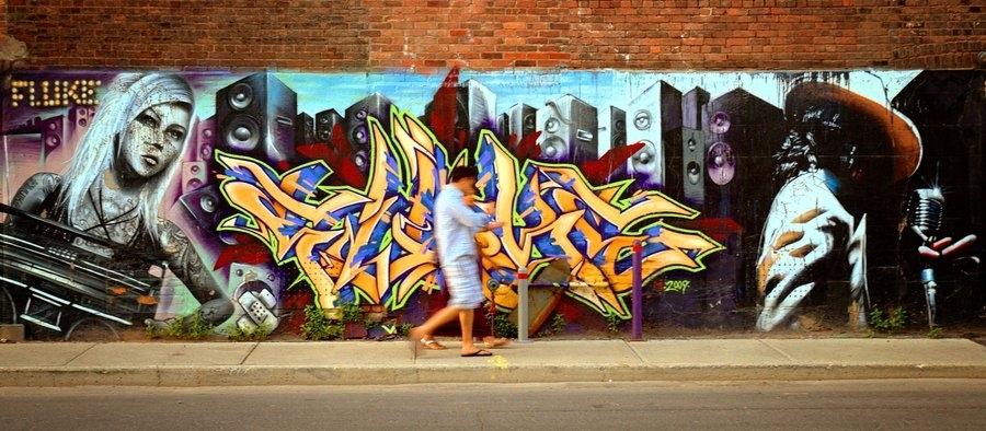 Montreal Graffiti Wall Artfrenchiesmalls On Deviantart Throughout Graffiti Wall Art (View 6 of 25)