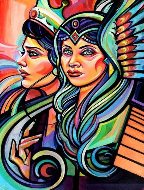 Monumental Motherhood Murals : Graffiti Wall Art With Graffiti Wall Art (View 11 of 25)