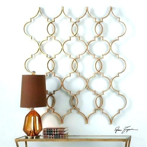 Moroccan Wall Art Wall Art Wall Decor Stencil Wall Art Moroccan Wall Regarding Moroccan Wall Art (Photo 24 of 25)