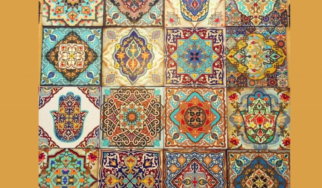Moroccan Wall Decor Beautiful Hamsa Wall Art Set Old Moroccan Wall Throughout Moroccan Wall Art (View 9 of 25)