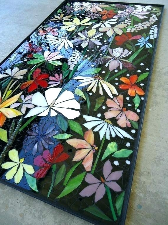 Mosaic Wall Art Mosaic Wall Art Large Mosaic Wall Art Exterior With Regard To Stained Glass Wall Art (View 8 of 25)