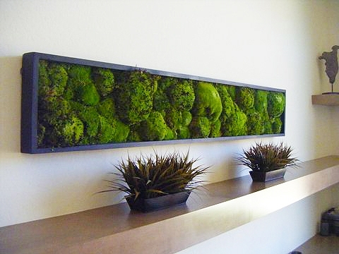 Mosswallart Pieces For Sale Online – Best Living Artwork For Home In Moss Wall Art (Image 21 of 25)