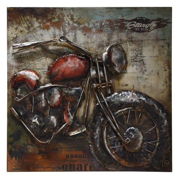 Motorcycle Decor | Wayfair (Image 12 of 25)