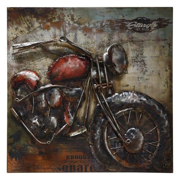 Motorcycle Decor | Wayfair (View 19 of 25)
