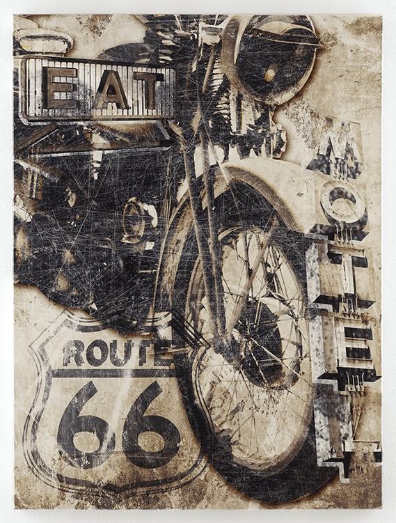 Motorcycle Wall Art Brogan Multi Ashley A8000079 Inside Motorcycle Wall Art (View 24 of 25)