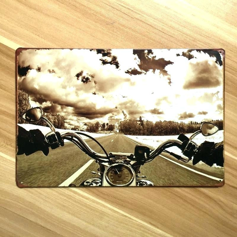 Motorcycle Wall Art L Arts Motorcycle L Art Metal Dimensional Inside Motorcycle Wall Art (Image 17 of 25)