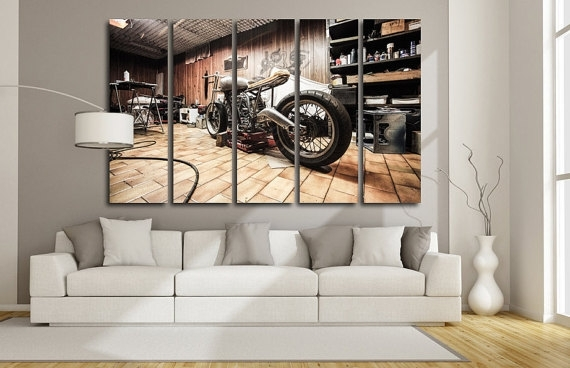 Motorcycle Wall Art – Talentneeds – Inside Motorcycle Wall Art (Image 15 of 25)