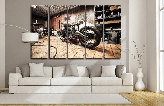 Motorcycle Wall Art – Talentneeds – Inside Motorcycle Wall Art (View 21 of 25)