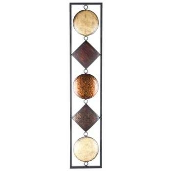 Multi Color Vertical Metal Wall Decor Hobby Lobby, Vertical Metal With Vertical Metal Wall Art (Image 9 of 25)