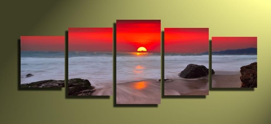 Multi Panel Artwork,multi Panel Wall Art For Multi Panel Wall Art (Image 5 of 10)