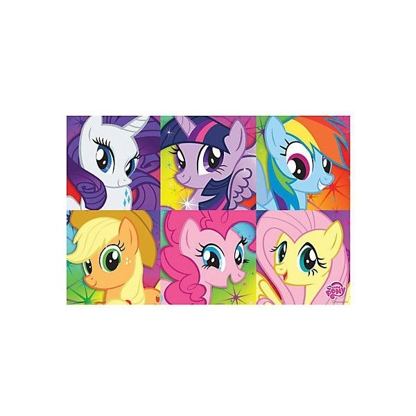 My Little Pony Mane 6 Poster | Hot Topic (£ (View 15 of 20)