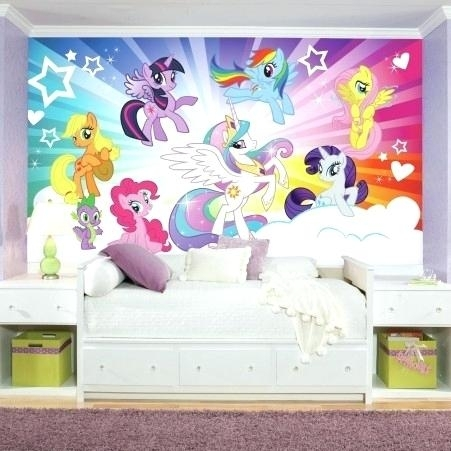 My Little Pony Wall Decals My Little Pony Wall Art My Little Pony Intended For My Little Pony Wall Art (View 6 of 20)