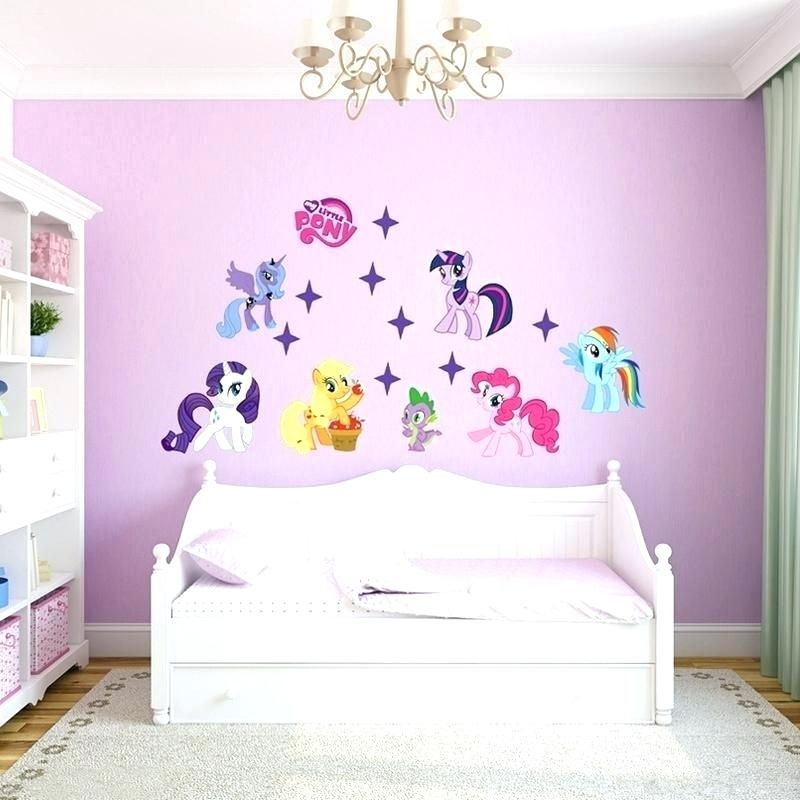 My Little Pony Wall Stickers My Little Pony Bedroom Ideas My Little In My Little Pony Wall Art (View 8 of 20)
