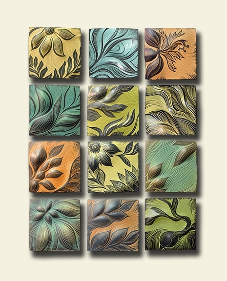 Natalie Blake Studios Ceramic Wall Art Wins Award | Natalie Blake regarding Ceramic Wall Art