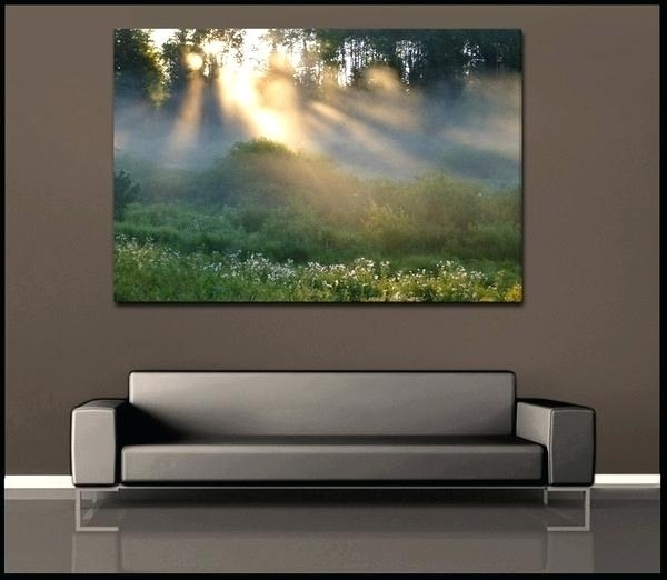 Nature Canvas Artwork 5 Piece Canvas Wall Art Home Decor Scenery Inside Nature Wall Art (Image 15 of 25)