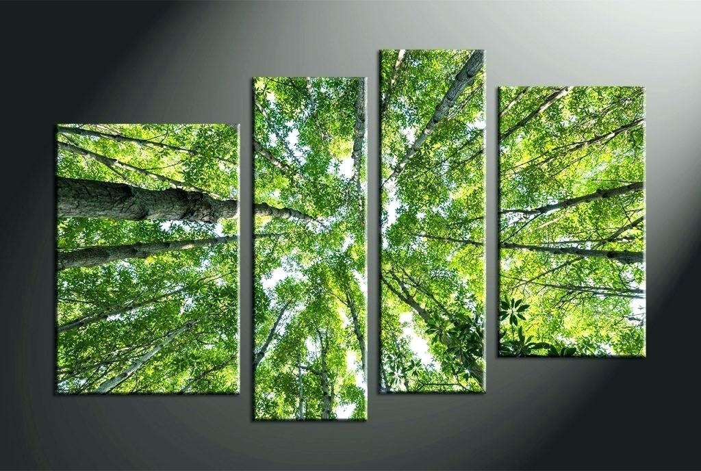 Nature Canvas Wall Art Wall Arts Home Decor 4 Piece Canvas Wall Art Regarding Nature Wall Art (Image 16 of 25)