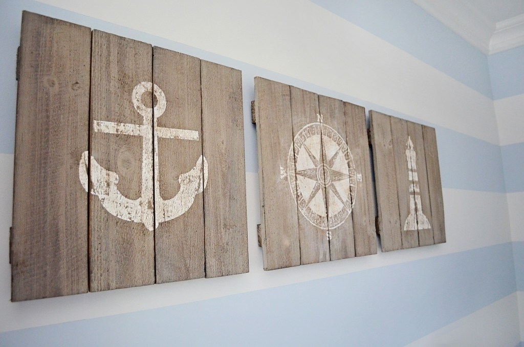 Nautical Wall D Cor Anchor Com With Regard To Art Prepare 17 Inside Nautical Wall Art (View 6 of 10)