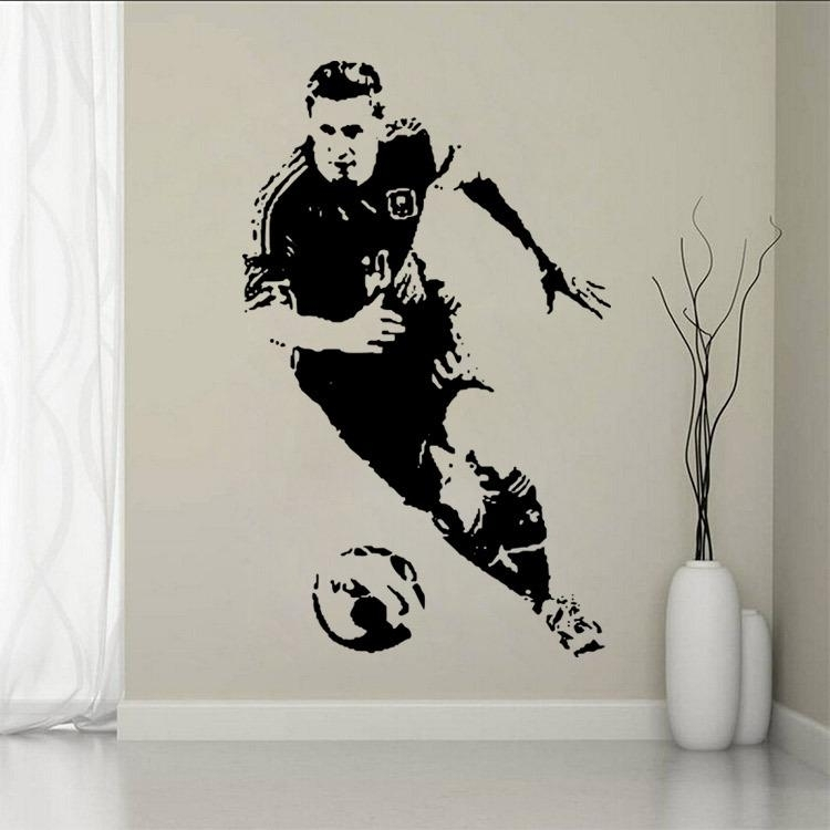 New 2016 Sports Footballer Of The Year Lionel Messi Shoot The Soccer Intended For Soccer Wall Art (View 4 of 25)