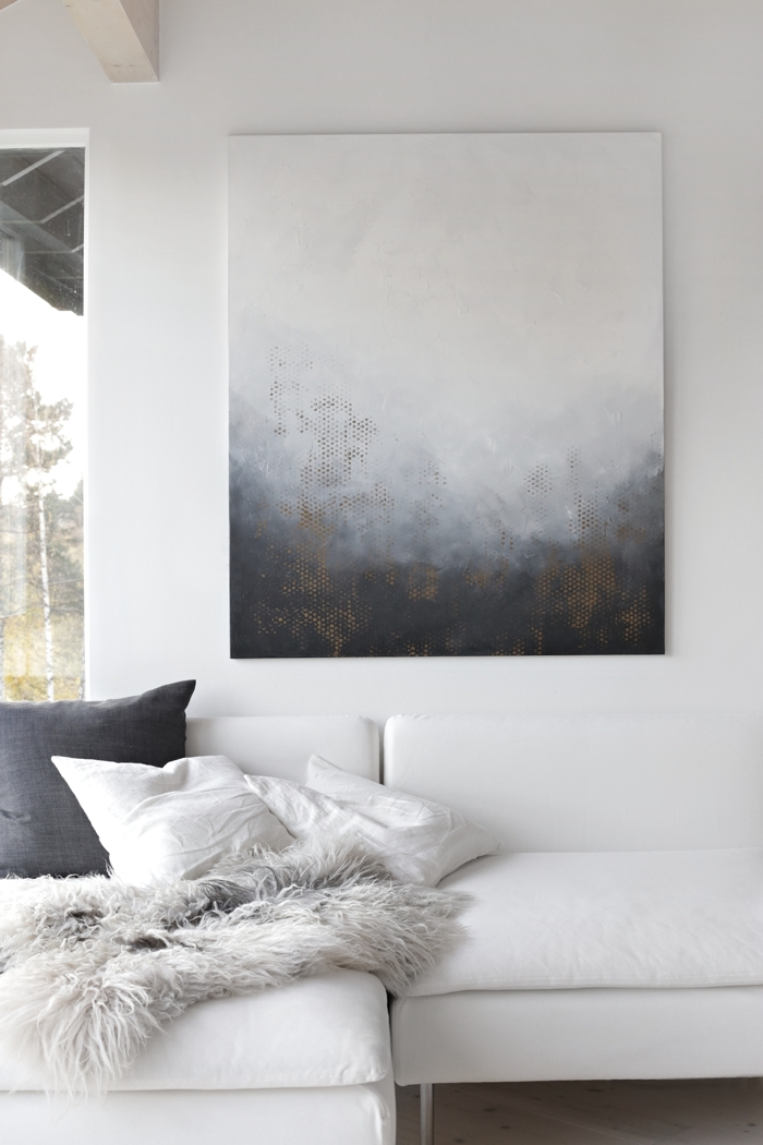 New Art For Your Wall (Stylizimo Blog) | Interiors | Pinterest with regard to Grey Wall Art