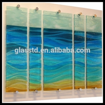 New Design Tempered Glass Wall Art Panels – Buy Tempered Glass Wall For Glass Wall Art (Image 9 of 10)