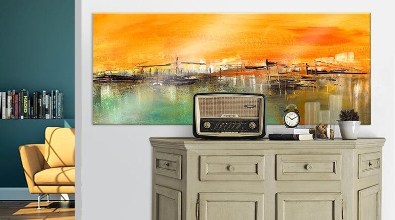 New Wall Art Regarding Orange Wall Art (Image 13 of 25)