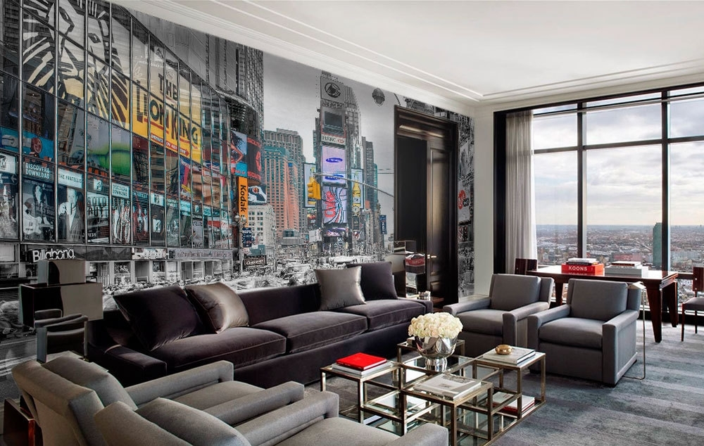 New York Lights Wall Art – Moonwallstickers With New York Wall Art (Image 13 of 25)