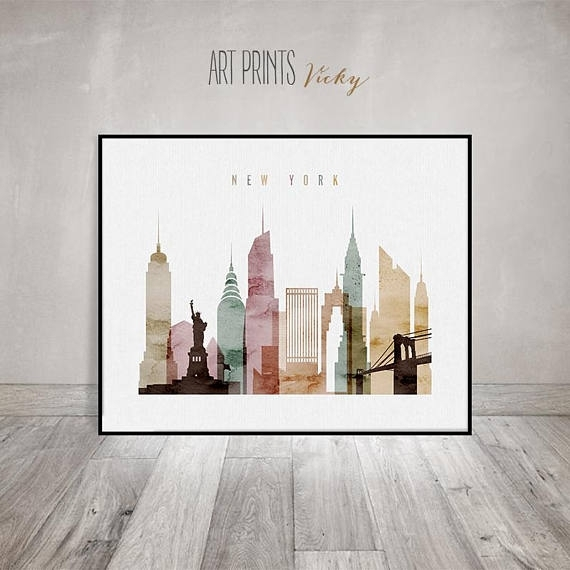 New York Wall Art Fancy New York Wall Art – Wall Decoration Ideas Within New York Wall Art (View 3 of 25)