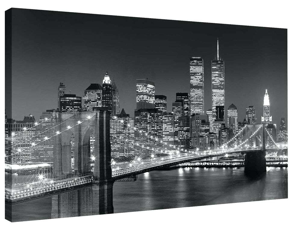 New York Wall Decor Not Framed Canvas Print Home Decor Wall Art With New York Wall Art (View 9 of 25)