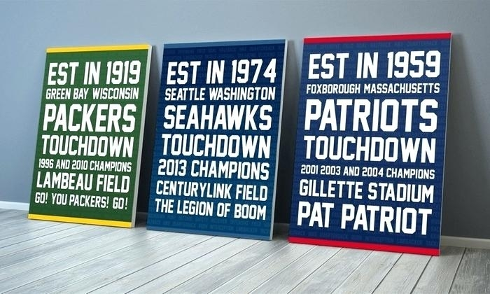 Featured Image of Nfl Wall Art