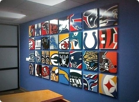Nfl Wall Art Wall Mural Sports Print Prints Printing Wall Nfl For Nfl Wall Art (Image 17 of 20)