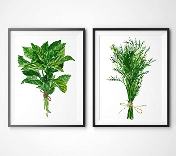 Nice Idea Herb Wall Art Layout Design Minimalist Framed You Ll Love With Herb Wall Art (Image 16 of 20)