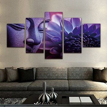 Nice Looking Purple And Grey Wall Art Small Home Remodel Ideas Intended For Purple And Grey Wall Art (View 7 of 25)