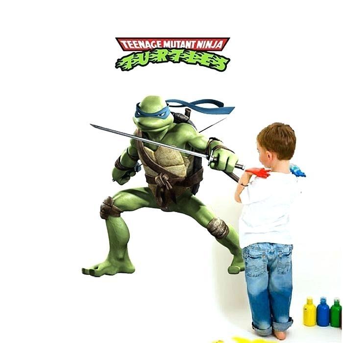 Ninja Turtle Night Light Ninja Turtles Wall Art Ninja Turtles Wall Regarding Ninja Turtle Wall Art (Image 5 of 25)