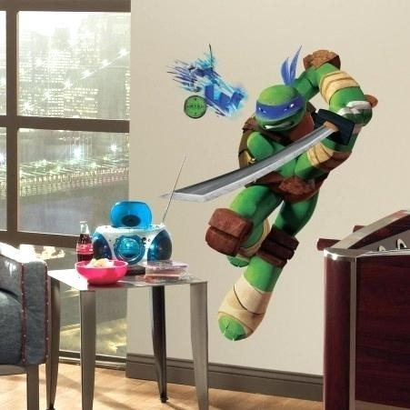 Ninja Turtle Wall Stickers Shop Teenage Mutant Ninja Turtles Giant In Ninja Turtle Wall Art (Image 14 of 25)
