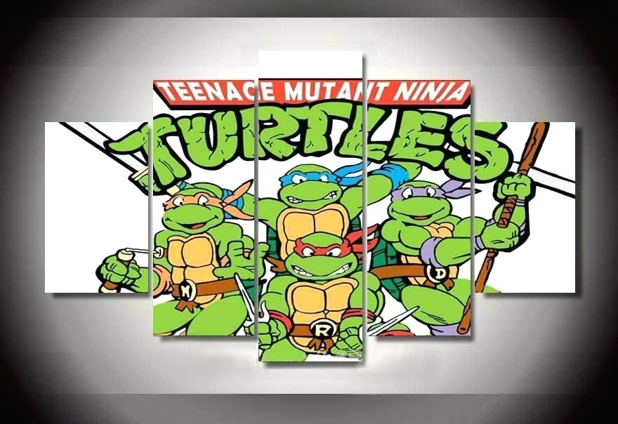 Ninja Turtles Picture Frame Ninja Turtle Wall Decor Online Get Cheap Inside Ninja Turtle Wall Art (Image 16 of 25)