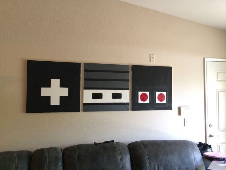 Nintendo Wall Art – Arsmart Regarding Nintendo Wall Art (Image 7 of 20)