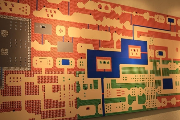 Nintendo Wall Art Impressive Nes Zelda Mural - Mycraftingbox within Nintendo Wall Art