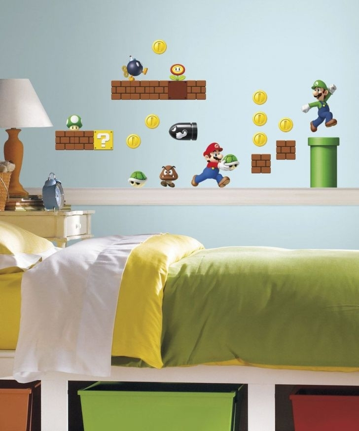 Nintendo Wall Size Graffix | Home Art Site Pertaining To Nintendo Wall Art (Image 12 of 20)