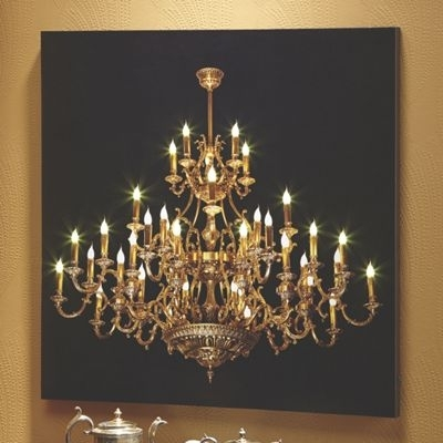 Nobby Design Chandelier Wall Art New Trends Lit From Country Door for Chandelier Wall Art